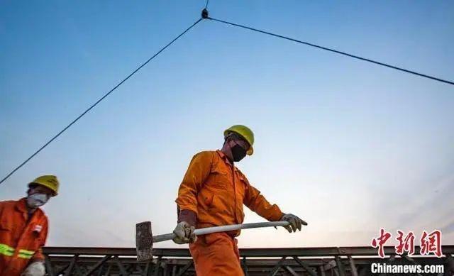 都昌:新妙湖特大桥建设有序复工