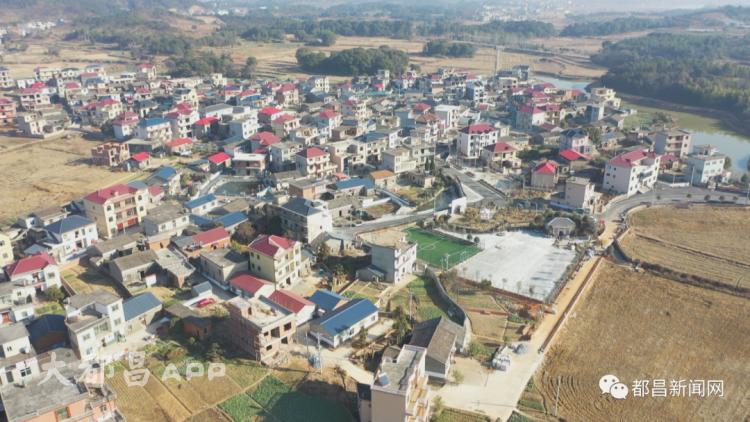 都昌这个村庄投资了880余万元,村容村貌发生了翻天覆地的变化!