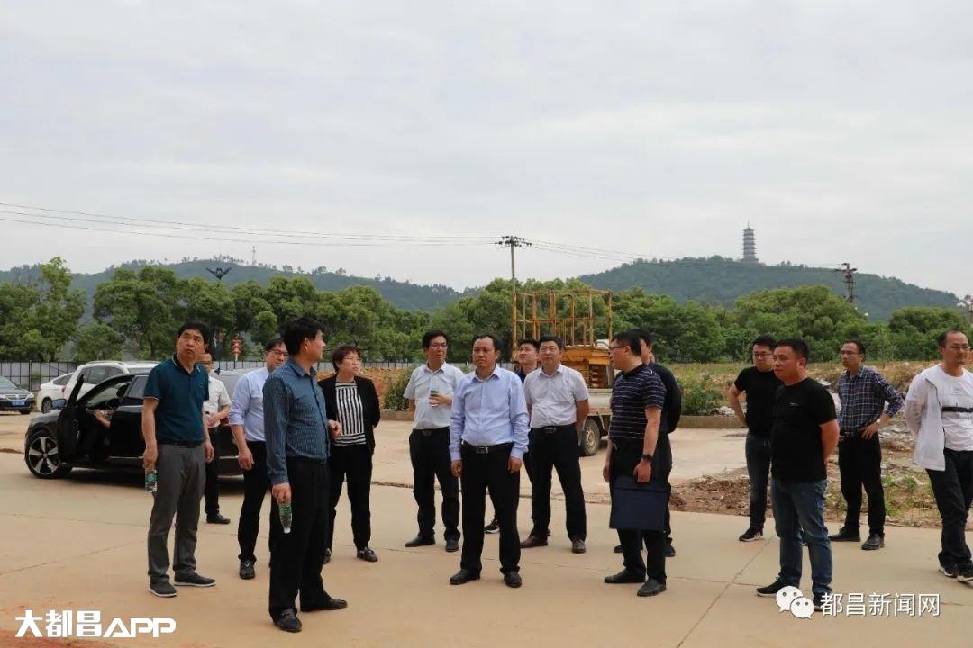 县长钟有林实地调度督导城建项目建设