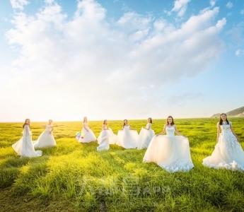琳子摄影-鄱阳湖畔-芳草-你们